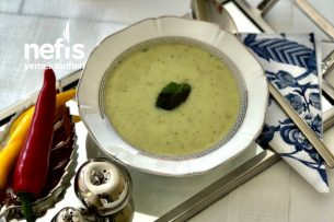 Diyet Kabak Çorbası (Ödem  Atıcı) Tarifi