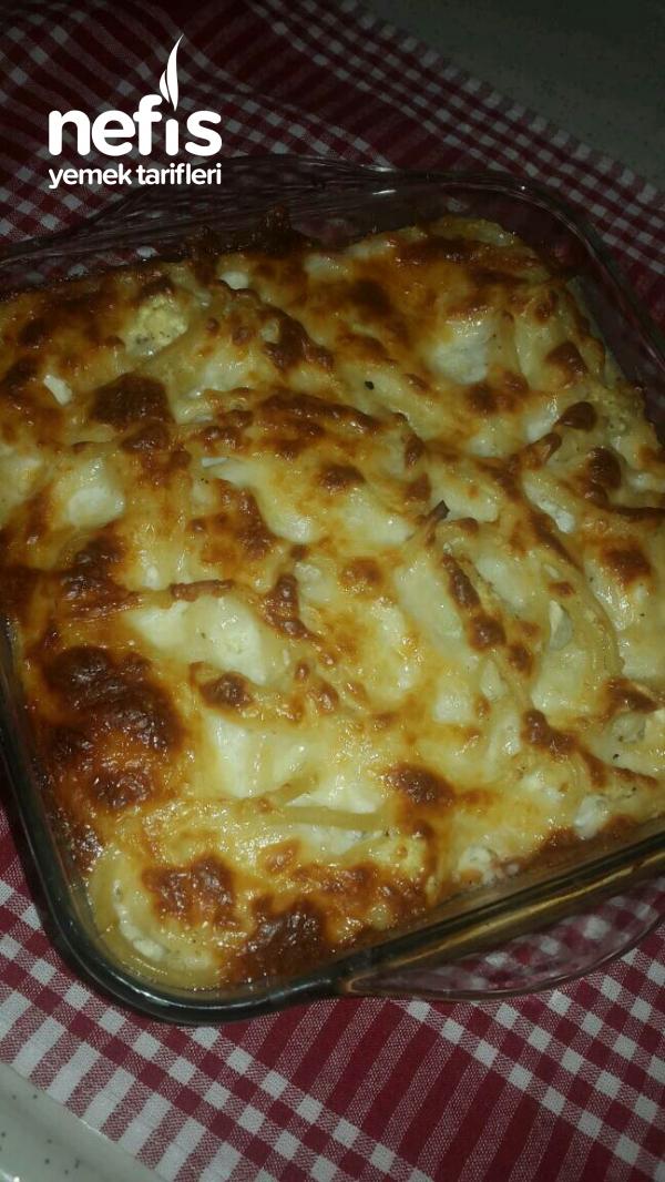 Fırında Peynir Soslu Baharatlı Makarna(Çok Seveceksiniz)