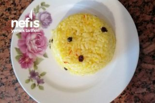 Safranlı Pirinç Pilavı Tarifi