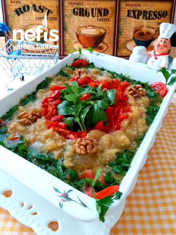 Semizotlu,patlıcan Salatası