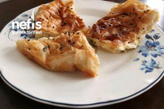 Sodalı Peynirli Maydanozlu Börek Tarifi