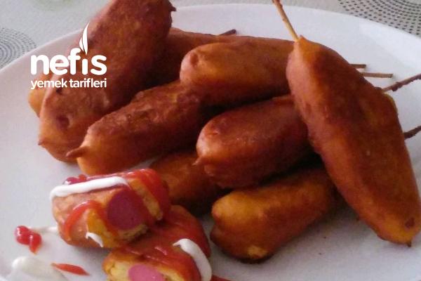 Türk Usulü Corn Dog Tarifi