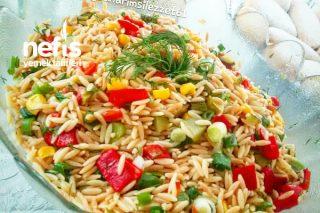 Arpa Şehriye Salatası Yemelere Doyamayacaksınız Tarifi
