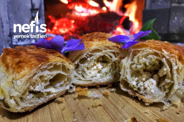 Çıtır Çıtır Sarıyer Böreği ( El Açması) Tarifi