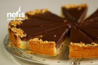Fındık Kremalı Çikolatalı Tart (Muhteşem Lezzet) (Videolu) Tarifi
