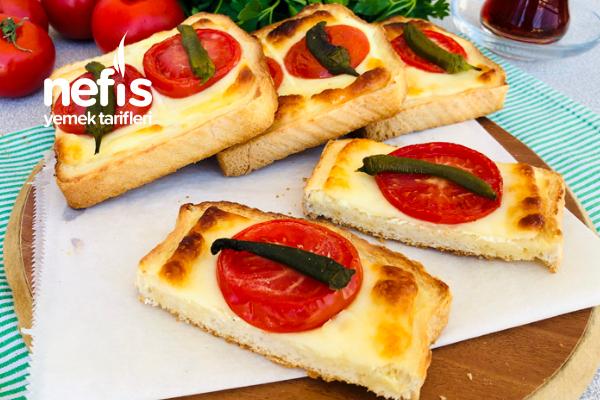 Labne Peynirli Ekmek Dilimleri (Susatmayan – Sahur İçin)