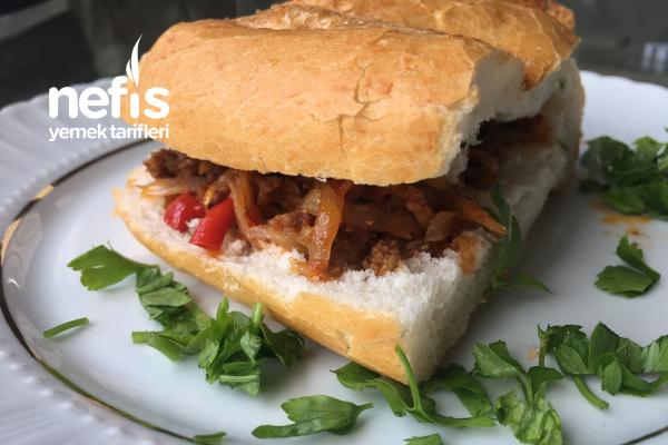 Pratik Ekmek Arası (Kıymalı , Patatesli) Tarifi