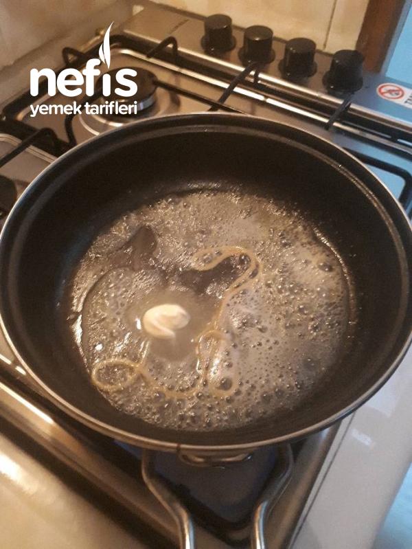 Sebzeli biftekli Makarna