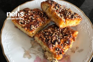 Biberli Susamlı Çörek Tarifi