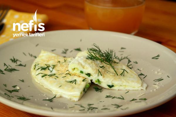 Bol Proteinli Beyaz Omlet Tarifi