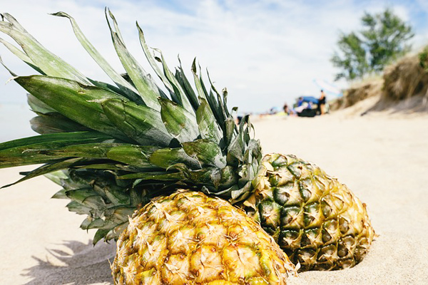 kilo verdiren yiyecekler ananas