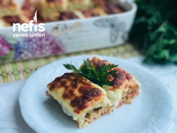 Porsiyonluk Kıymalı Rulo Lazanya İster Yemek İster Börek