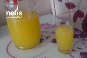 1 Limon Ve 1 Portakala Harika Limonata Tarifi