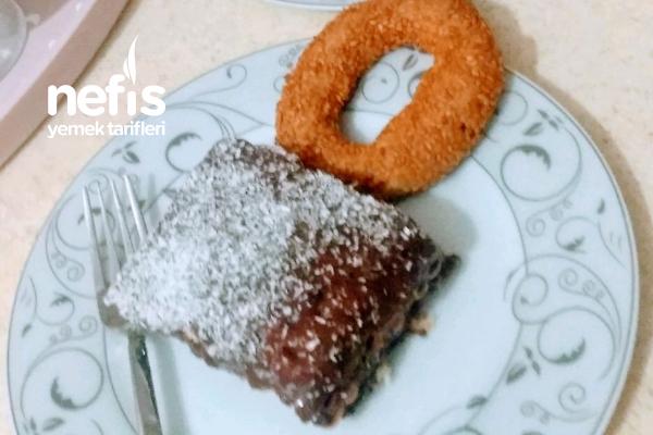 Anne Usulü Pudingli Bisküvili Pasta Tarifi