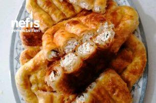Çıtır Çıtır Peynirli El Açması Börek Tarifi