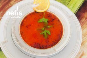 Domatesli Erişte Çorbası Tarifi