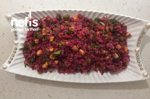 Şalgamlı Bulgur Salatası Tarifi