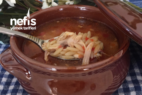 Domatesli Tavuk Çorbası Tarifi