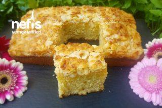 Müptelası Olacağınız Bir Kek Bademli Tereyağlı Kek Tarifi
