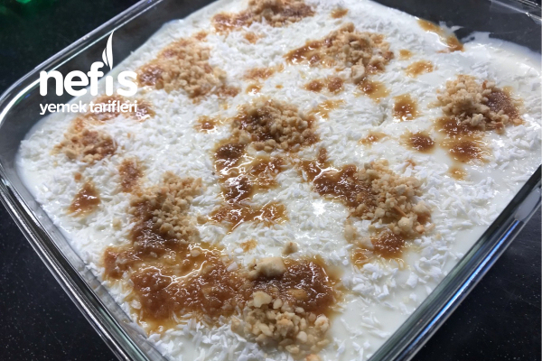 Pastane Tarifi Karamelli Gelin Pastası