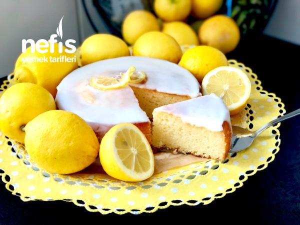 Bol Soslu Limonlu Sünger Kek (Miksersiz Tarif)