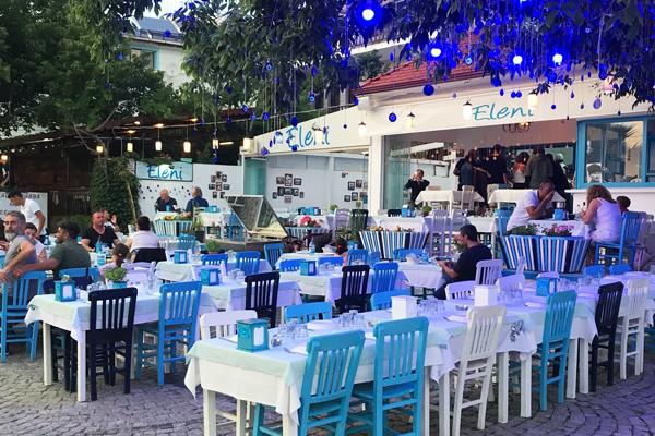 eleni restaurant gökçeada