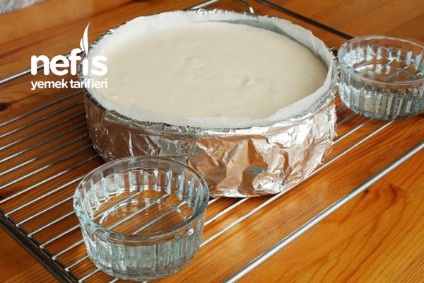 Karamel Soslu Cheesecake