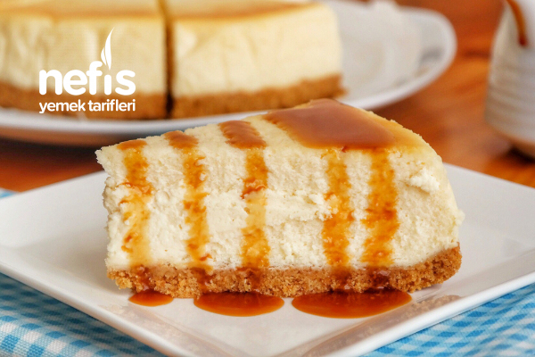 Karamel Soslu Cheesecake Tarifi (videolu)