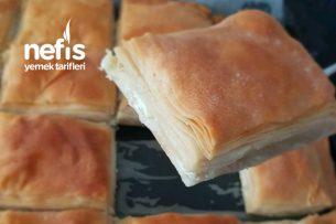 Kıyır Kıyır El Açması Peynirli Börek Tarifi