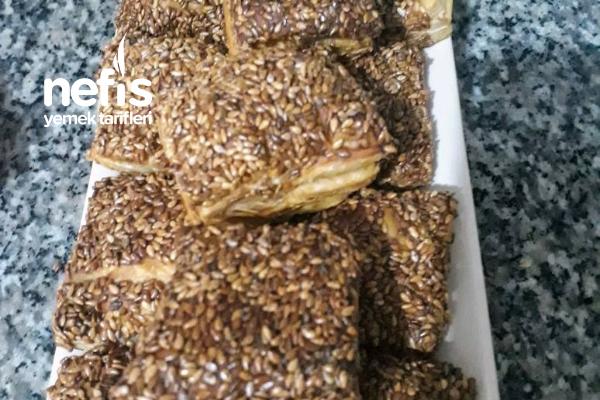 Simit Tadında Milföy Börekler Tarifi