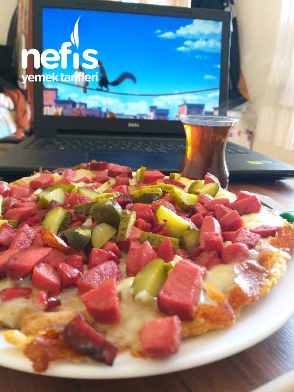 Şipşak Patates Pizzası