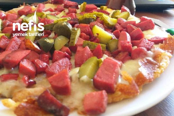 Şipşak Patates Pizzası Tarifi