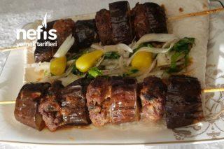 Şişte Patlıcan Kebabı Tarifi