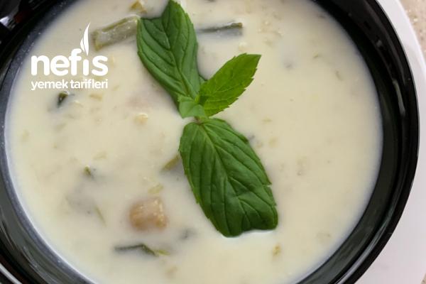 Bulgur Ve Çirişli Lezzetli Sağlıklı Soğuk Çorba Tarifi