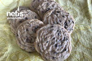 Damla Çikolatalı Yumuşak Kurabiye (Chocolte Chip Cookies) Tarifi