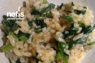 Ispanaklı Pirinç Pilavı (Buğulama) Tarifi