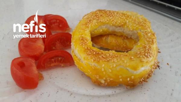 Nefis Milföy Simitleri(kahvaltiya Veya Beş Çaylarına)