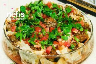 Tandır Ekmeğinde Patlıcanlı Beyti Kebabı Tarifi