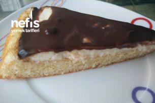 Çikolatalı Labneli Tart Kek Tarifi