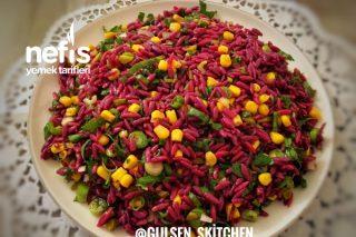 Şalgamlı Arpa Şehriye Salatası Tarifi