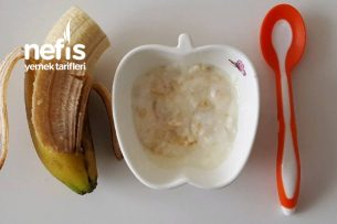 Bebe Ara Öğün Meyve Ve Meyveli Yoğurt (  6 Ay) Tarifi