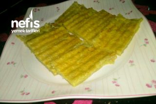 Elmalı Patates Tostu (+1 Yaş) Tarifi