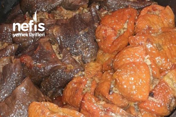 Kuru Biber Patlıcan Dolması Tarifi