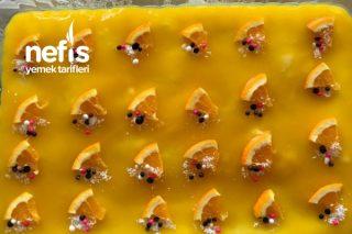 Portakal Soslu Muhallebili Etimek Tatlısı Tarifi