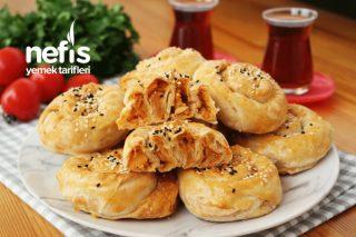 Yumuşacık Patatesli Gül Böreği Tarifi (videolu)
