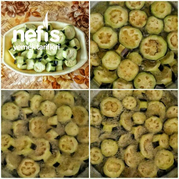 Fırında Patlıcan Ve Patates Yemeği