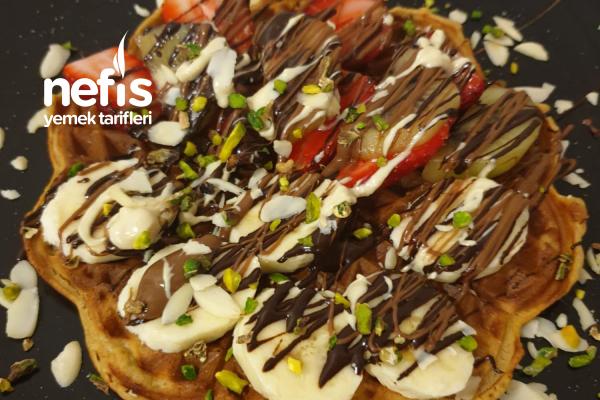 Keçiboynuzu Özlü Waffle Tarifi