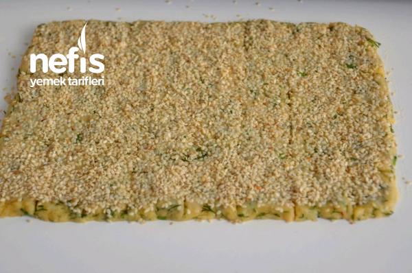 Peynir Dolgulu Dereotlu Tuzlu Kurabiye ( Sade Ve Peynirli )