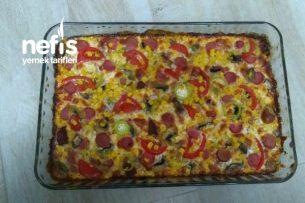 Bool Malzemeli Süper Pizza Tarifi
