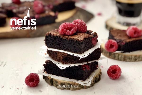 Frambuazlı Brownie Tarifi